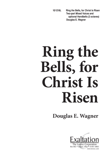 Ring the Bells, for Christ is Risen