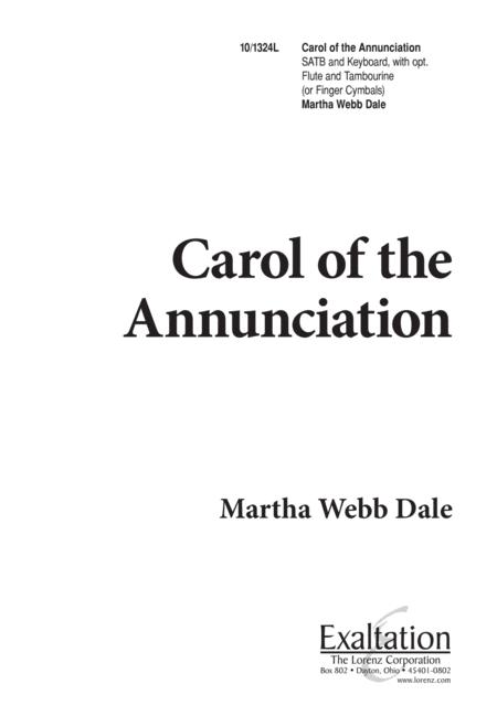 Carol of the Annunciation