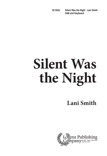 Silent Was the Night
