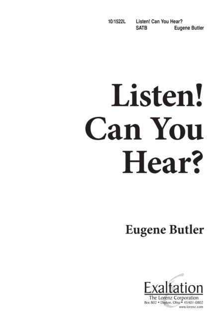 Listen, Can You Hear?