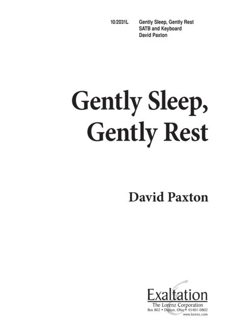 Gently Sleep, Gently Rest