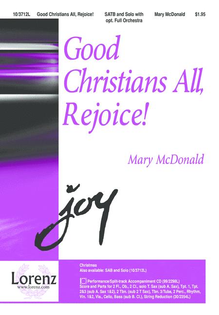 Good Christians All, Rejoice!