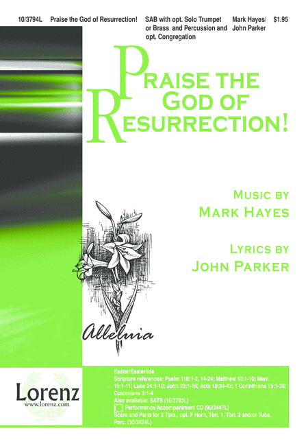 Praise the God of Resurrection!