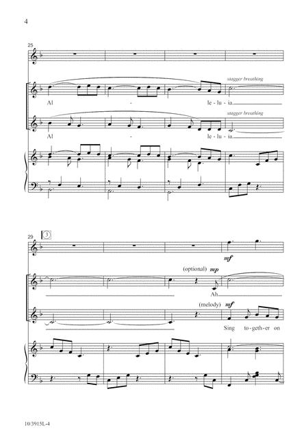 Sing a Joyous Alleluia