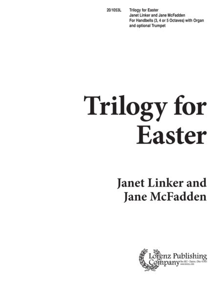Trilogy for Easter