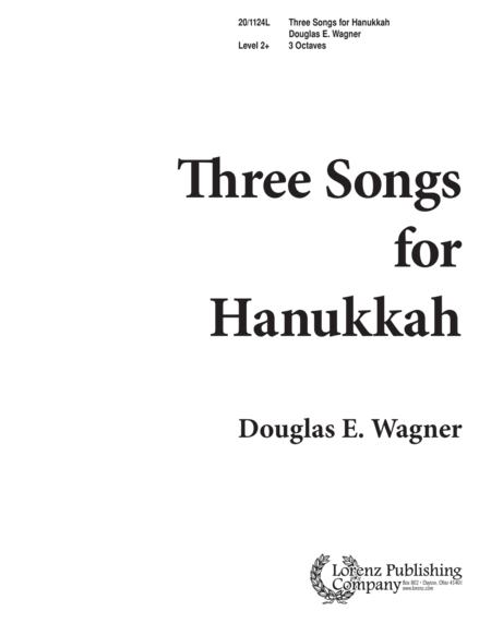 Three Songs for Hanukkah