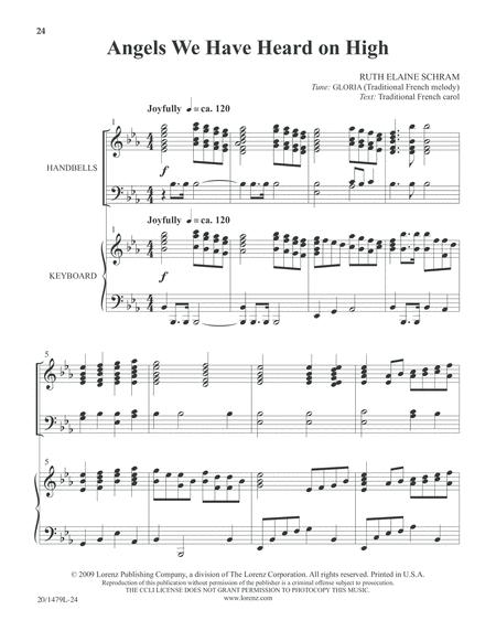 Christmas Carol Celebrations - Keyboard/Handbell Score