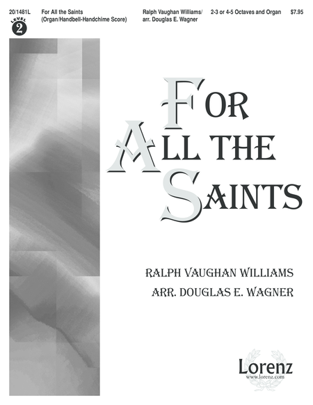 For All the Saints - Organ/Handbell or Handchime Score