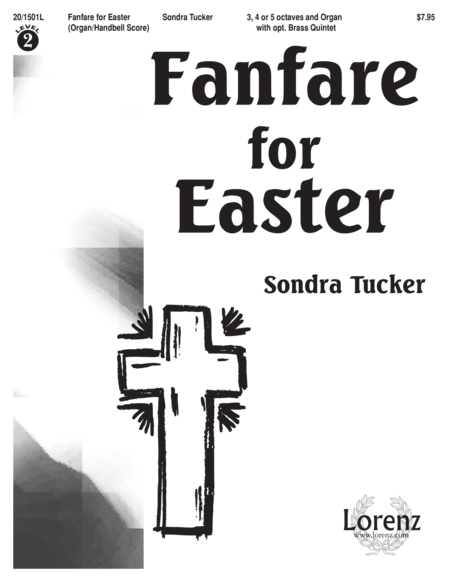 Fanfare for Easter - Handbell/Organ Score