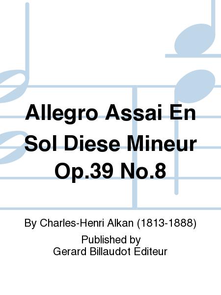 Allegro Assai En Sol Diese Mineur Op.39 No.8