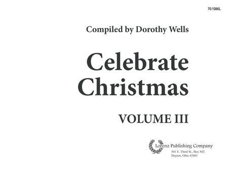 Celebrate Christmas, Vol. 3