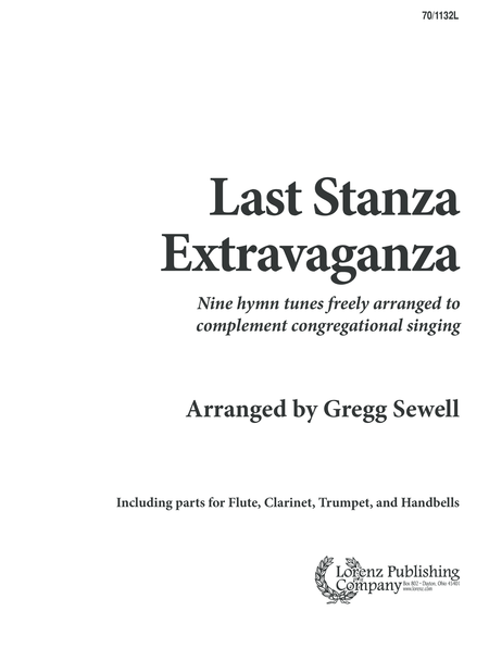 Last Stanza Extravaganza