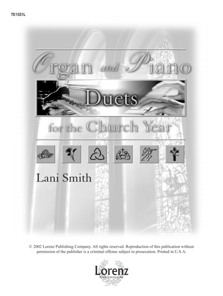 Organ and Piano Duets for the Church Year