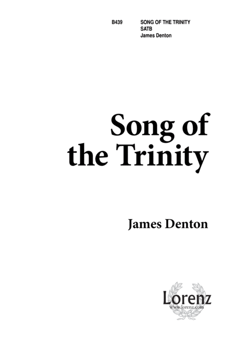 Song of the Trinity