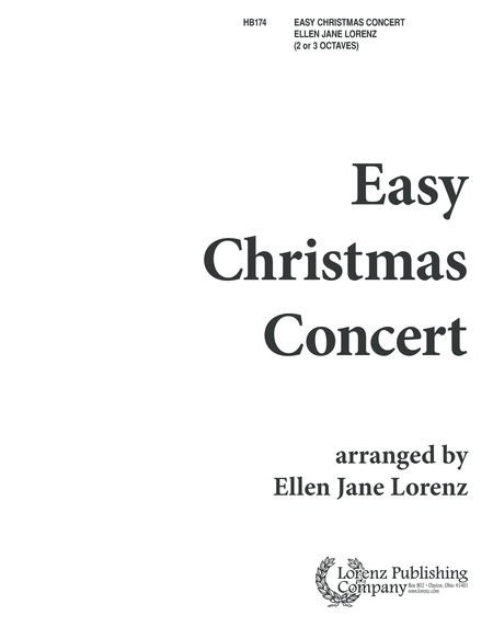 Easy Christmas Concert