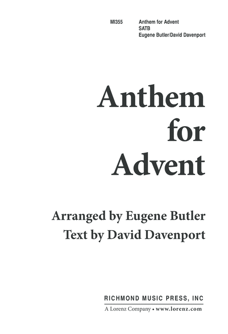 Anthem for Advent