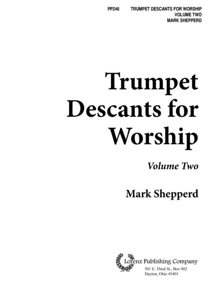 Trumpet Descants for Worship II
