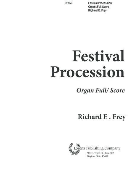 Festival Procession - Organ/Full Score