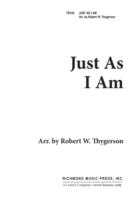 Just as I Am