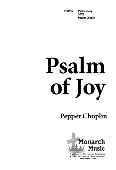 Psalm of Joy