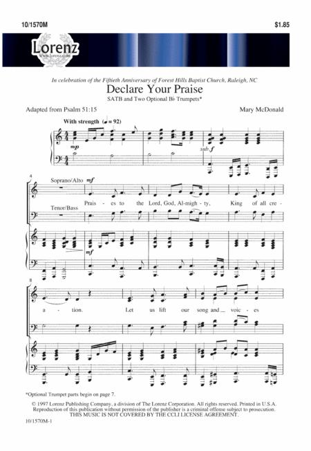 Declare Your Praise