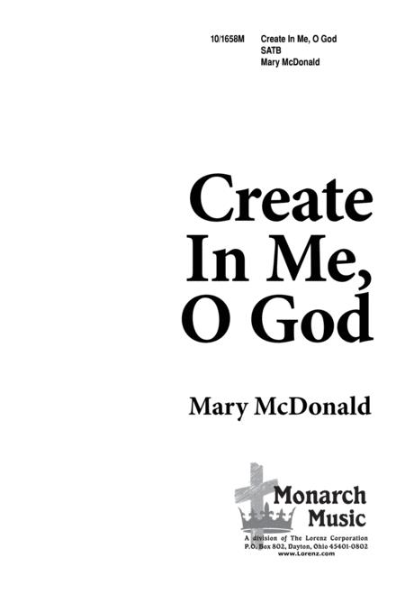 Create in Me, O God