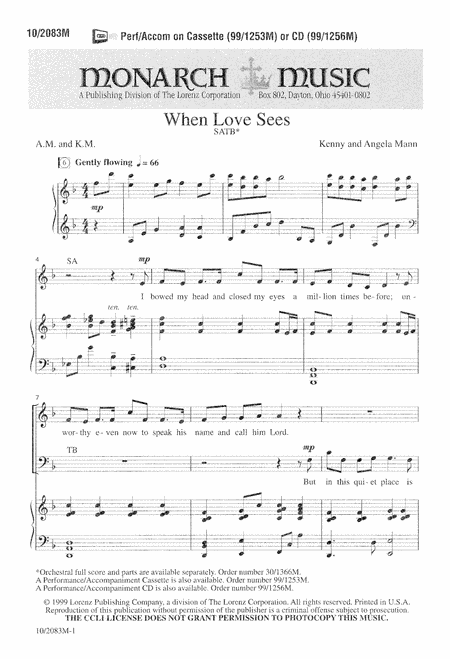 When Love Sees