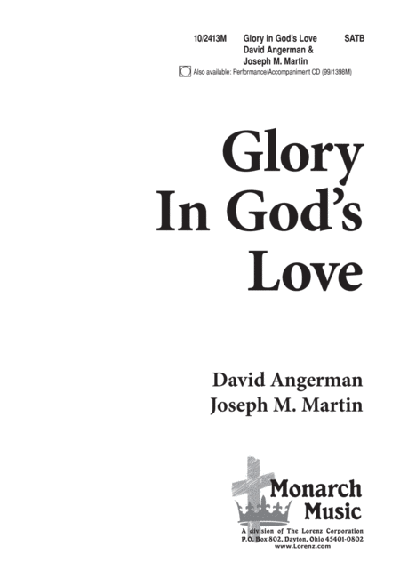 Glory in God's Love