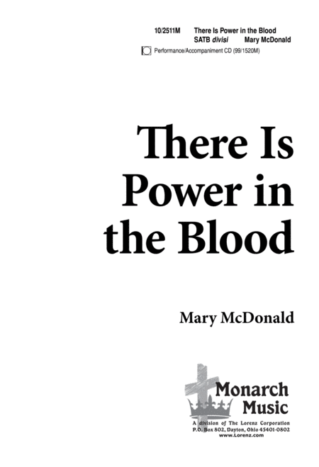 There is Power in the Blood