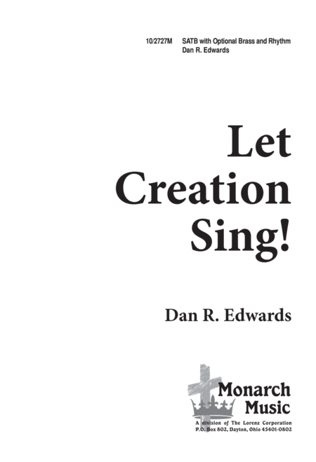 Let Creation Sing!