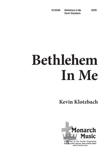 Bethlehem in Me