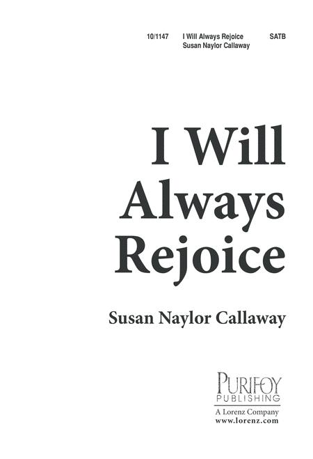 I Will Always Rejoice