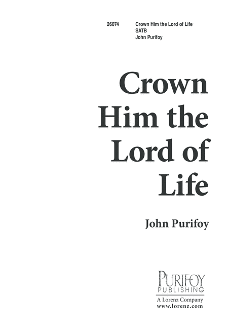 Crown Him the Lord of Life