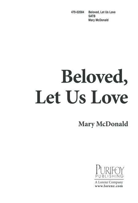 Beloved, Let Us Love