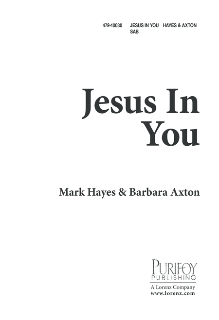 Jesus in You
