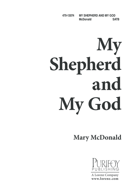My Shepherd and My God