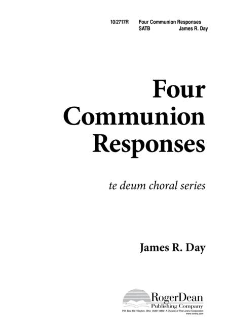 Four Communion Responses