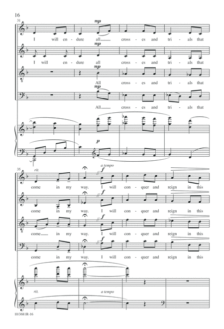 From a Shaker Hymnal