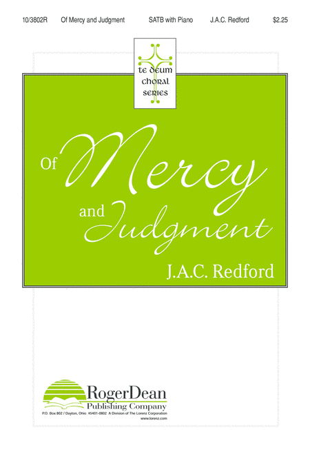 Of Mercy and Judgment