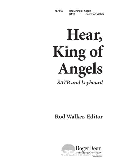 Hear, King of Angels