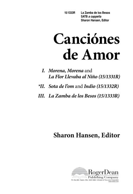 Canciones de amor la zamba de los besos