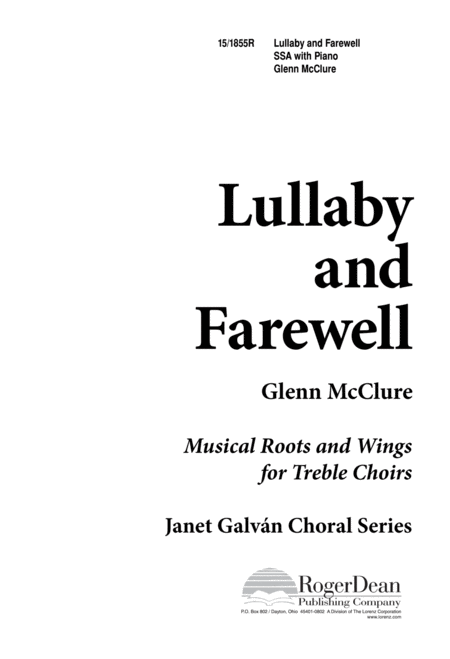 Lullaby and Farewell