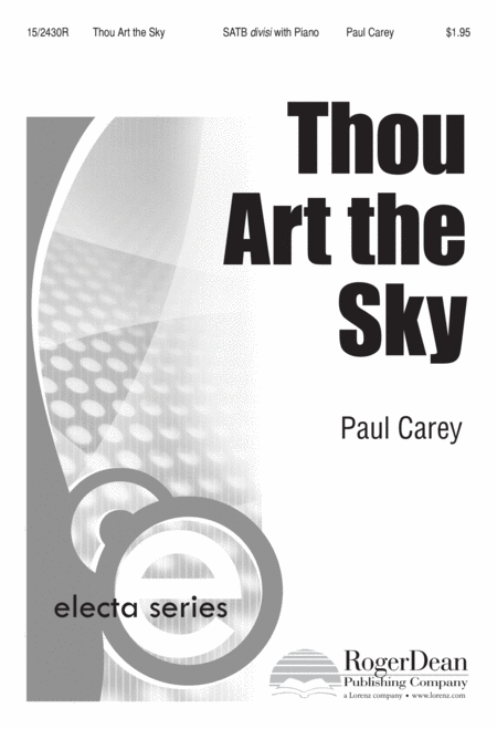 Thou Art the Sky