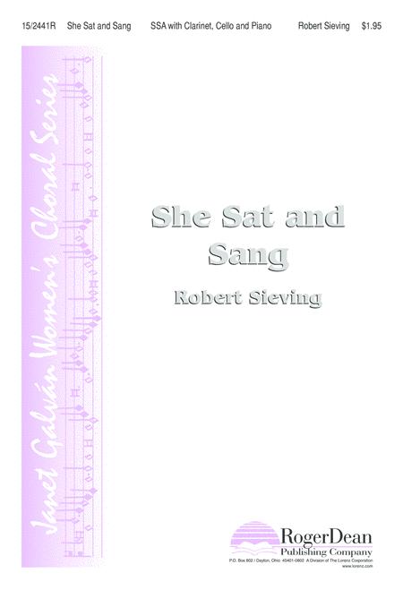 She Sat and Sang