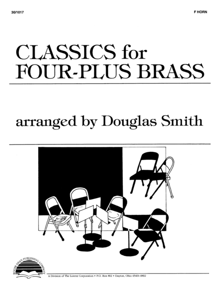 Classics for Four-Plus Brass - F Horn