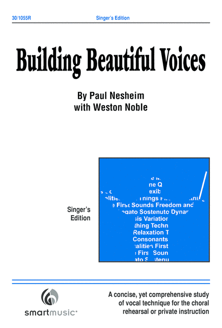 Building Beautiful Voices - Singers Edition