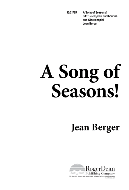 A Song of Seasons!