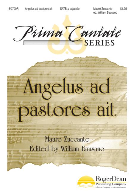 Angelus ad pastores ait