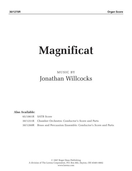 Magnificat - Organ Part