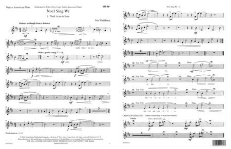 Noel Sing We - Flute Part
